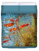 River Sumac Duvet Cover