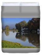 River Thames At Cookham Duvet Cover
