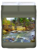 River Wall Duvet Cover