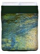 River Water 1 Duvet Cover