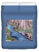 River With No End Duvet Cover