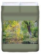 Riverbank Colors Duvet Cover