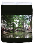 Riverboat View Duvet Cover