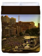 Riverfront Concert Duvet Cover by Diana Powell
