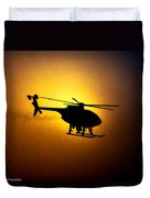 Riverside Ca Pd Air Support Duvet Cover