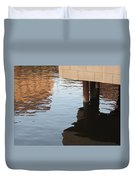 Riverwalk Low View Refections Duvet Cover