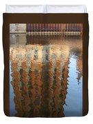 Riverwalk Reflection Duvet Cover