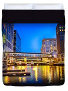 Riverwalk Shimmer Duvet Cover
