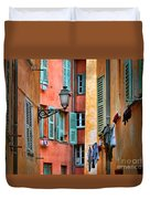 Riviera Alley Duvet Cover by Inge Johnsson