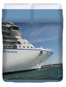 Riviera Ocean Liner Duvet Cover
