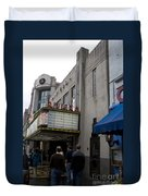 Riviera Theatre Charleston South Carolina Duvet Cover