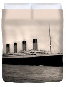 Rms Titanic Duvet Cover