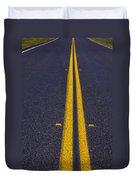 Road Stripe  Duvet Cover