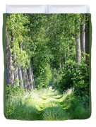 Road To Bruges Duvet Cover by Carol Groenen