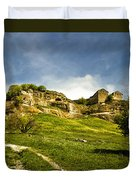 Road To Chufut-kale Duvet Cover