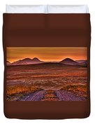 Road To Edna Valley Duvet Cover