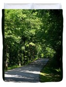 Road To Nature Duvet Cover