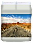 Road To Navajo Duvet Cover