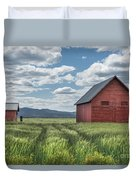 Road To Nowhere Duvet Cover by Sandra Bronstein