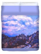 Road To Rocky Knob Duvet Cover