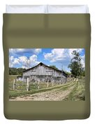 Road To The Barn - Featured In Old Building And Ruins Group Duvet Cover
