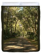 Road To The Enchanted Forest Duvet Cover
