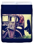Road Xox Duvet Cover
