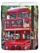 Roadmaster Double Decker 5261 Duvet Cover