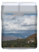 Roadway To Lincoln Duvet Cover