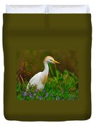 Roaming Through The Field Duvet Cover by Tony Beck