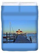 Roanoke Marches Lighthouse Duvet Cover