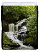 Roaring Creek Falls Duvet Cover