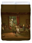 Roast Pig, 1862 Duvet Cover
