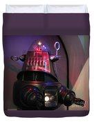 Robby The Robot 1956 Duvet Cover