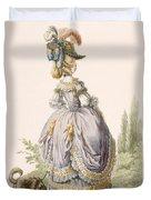 Robe De La Circassienne, Engraved Duvet Cover