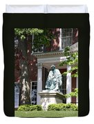 Robert Brooke Taney Statue - Maryland State House  Duvet Cover