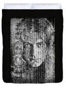 Robert Plant - Led Zeppelin Duvet Cover