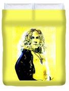 Robert Plant Of Led Zeppelin   Duvet Cover