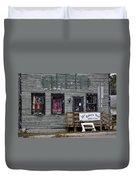 Robin's Nest Store In Autumn Michigan Usa Duvet Cover