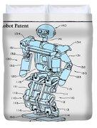 Robot Patent Duvet Cover