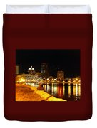 Rochester At Night Duvet Cover