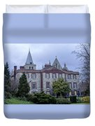 Rochester Cathedral Cafe Duvet Cover