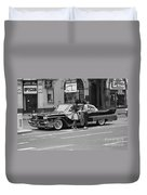 Rock And Roll Radio Campaign Duvet Cover