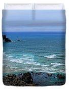 Indian Beach Duvet Cover