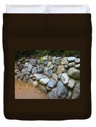 Rock Bench Duvet Cover
