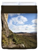 Rock Cliff Southern Madagascar Duvet Cover