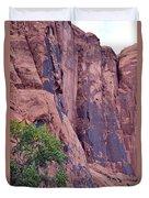 Rock Climbing Duvet Cover