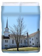 Rock Creek Church Duvet Cover