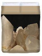 Rock Crystals Duvet Cover