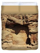 Rock Face 3 Duvet Cover